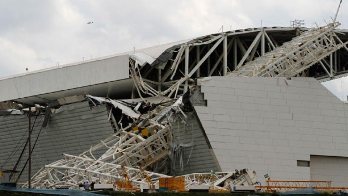 World Cup Soccer Stadium Collapse Kills 2 In Brazil