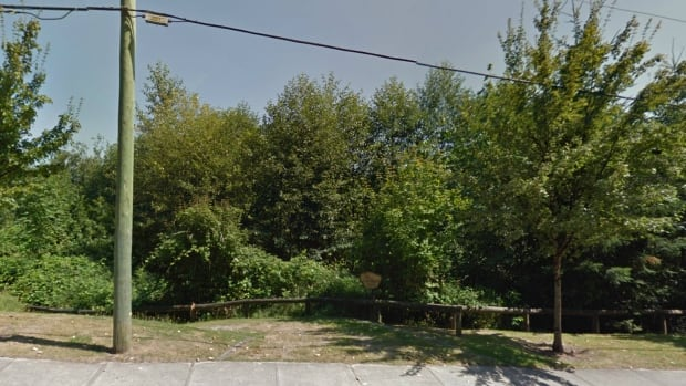 A Google Street View image shows the entrance to the Vine Maple Trail, in Maple Ridge, B.C., on 240 Street. Two women have been attacked and sexually assaulted by strangers on the trail in the past month.