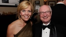 Christine Elliott, Ontario MPP, with Jim Love, Toronto lawyer and Canadian Mint chair