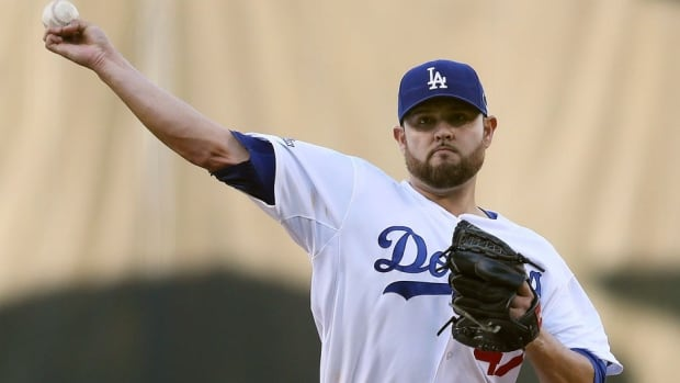 RIght-handed pitcher Ricky Nolasco has a healthy 7.4 strikeouts per nine innings.