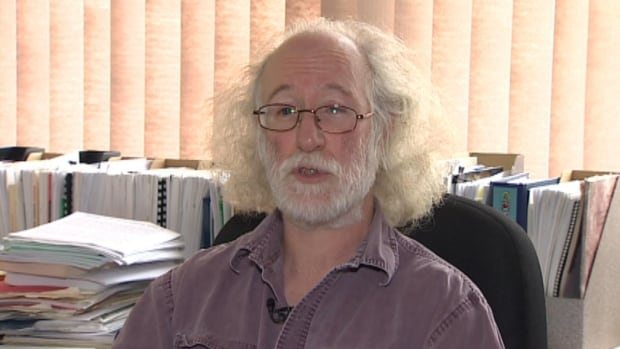 Memorial University geography professor Alistair Bath says poor air quality in his office is jeopardizing his health.