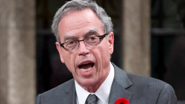 Natural Resources Minister Joe Oliver's department is spending $40 million this year on advertising at home and abroad.