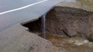 TCH Road washout