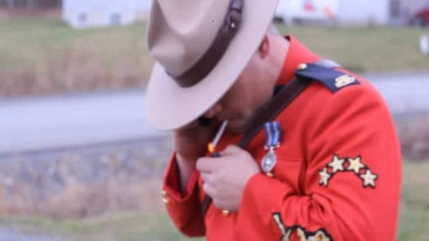 A pot-smoking Mountie faces a fight