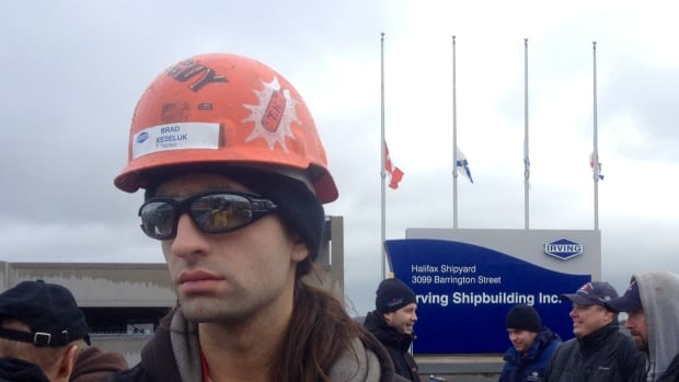 Flags at the yard flew at half-mast on Thursday as workers protested.