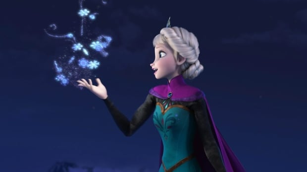 Elsa the Snow Queen, voiced by Idina Menzel, appears in a scene from Disney's smash hit animated feature Frozen. Frenzy over the film has extended to a noticeable boost to tourism in Norway.