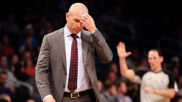 Jason Kidd is in his first year as an NBA coach.