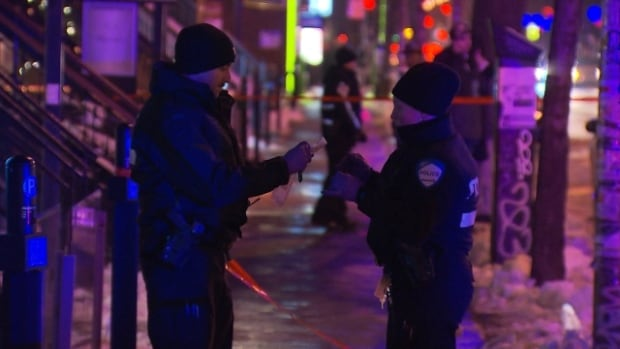 Police responded to the scene of a stabbing around 12:40 a.m. Sunday morning. The victim, a 19-year-old man, was transported to hospital with multiple stab wounds to his upper body.