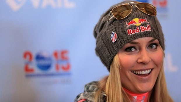 Lindsey Vonn is encouraged by her progress after her latest injury.
