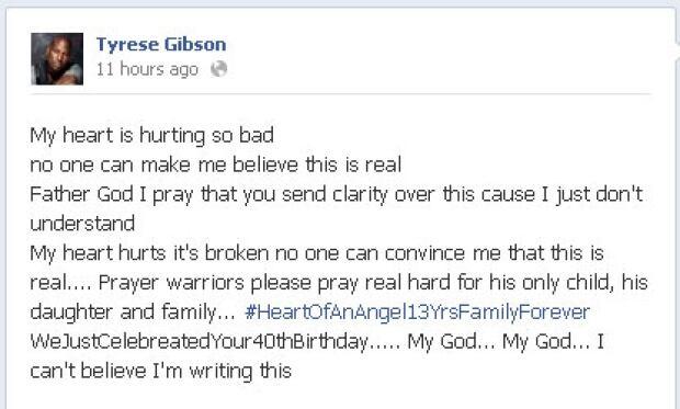 Tyrese Gibson Paul Walker