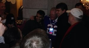 Mayor Rob Ford poses with members of the public