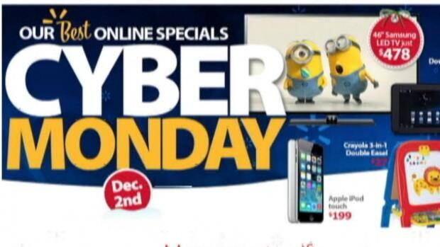 Cyber Monday shopping