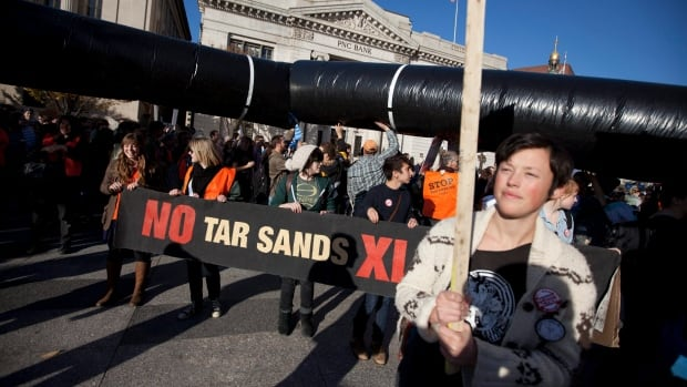 A former economic adviser appointed by the federal government came down hard on Canada's support for Keystone XL Monday. (Evan Vucci/Associated Press