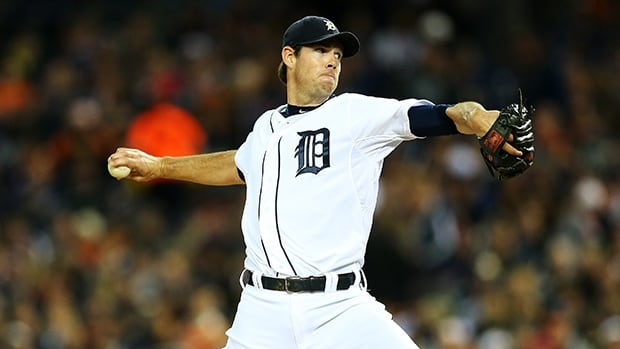 Doug Fister was 14-9 with a 3.67 ERA last season with the Detroit Tigers.