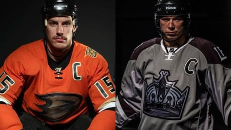 Kings, Ducks reveal jerseys for outdoor game