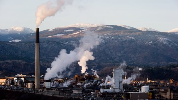 Teck Mining Company's zinc and lead smelting and refining complex is pictured in Trail, B.C. A Deloitte report says the mining sector has to innovate to get through current challenges.