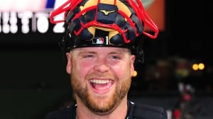 New Yankees catcher Brian McCann, who missed the first month of the 2013 campaign with the Braves following off-season surgery on his right shoulder, has a .277 average in nine big league seasons with 176 homers and 661 RBIs.