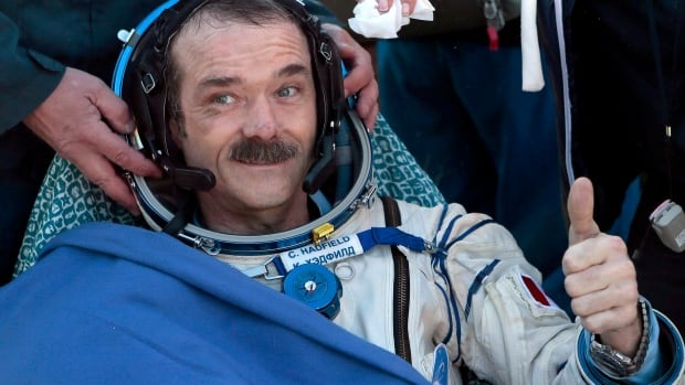 Canadian astronaut Chris Hadfield says he looks forward to working with students as an adjunct professor with the University of Waterloo.