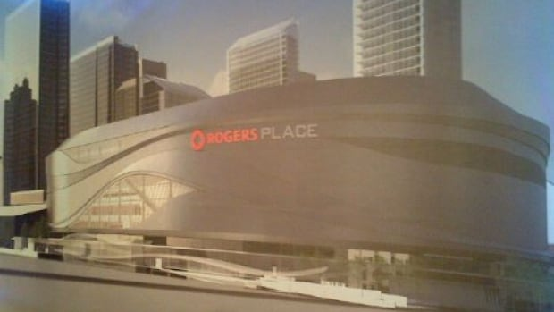 Edmonton's new downtown arena will be named Rogers Place after Roger Communications Inc. secured the naming rights. Construction of the arena is scheduled to start in March.