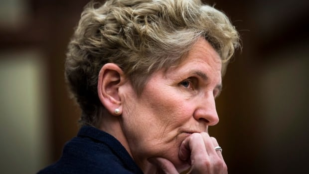Ontario Premier Kathleen Wynne speaks at the hearings into the gas plant cancellations at Queen's Park in Toronto, Tuesday, December 3, 2013. T