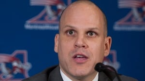 Mark Weightman speaks during a news conference in Montreal, Tuesday, December 3, 2013.
