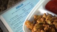 Chillax menu