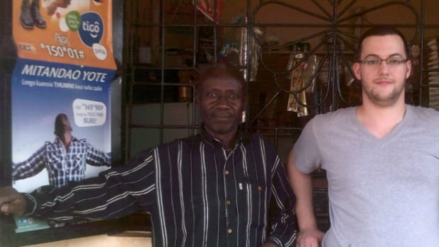 Adam Camenzuli, the executive director of Karibu Solar Power, has been visiting shop owners in Tanzania to convince them to carry his company's new modular solar power lamps.