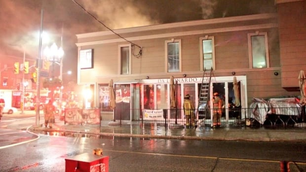 This fire at Da Leonardo Bistro on St. Clair Avenue West caused an estimated $300,000 in damages.