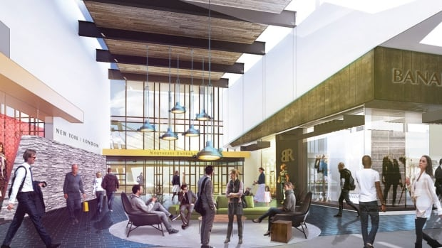 """The """"Outlet Collection at EIA"""" is part of the EIA's Highway Commercial Project, part of a larger plan to develop the airport into an urban economic region."""