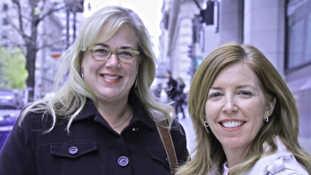 Katie Packer Gage, left, and Ashley O'Connor, pictured in Washington, D.C., founded Burning Glass Consulting with a third Republican woman, Christine Matthews, to help the U.S. Republican Party win more women voters.