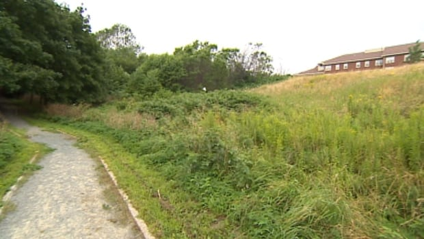 This is the area in the west end of St. John's where Bell Mobility has been proposing to place a cell phone tower site.