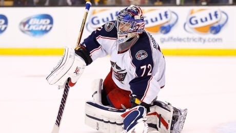 Blue Jackets' Sergei Bobrovsky placed on IR