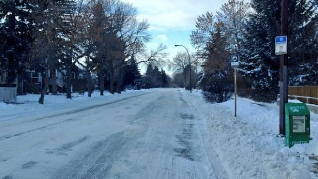 A fresh dusting of snow on top of already-icy pavement is making driving dangerous in Calgary.