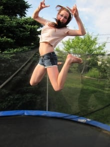 Rehtaeh Parsons trampoline