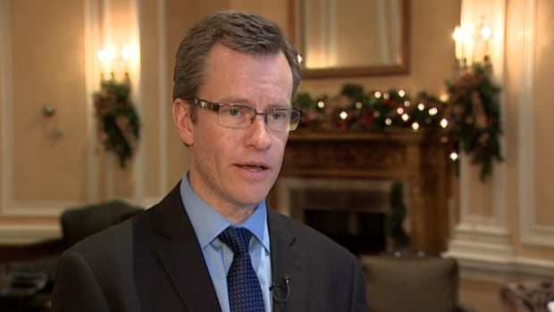David Woodward, the director of sales and marketing at the Fairmont Palliser, says the hotel is doing a booming business in Christmas celebrations this year.