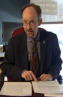 Sébastien Grammond, dean of civil law, University of Ottawa