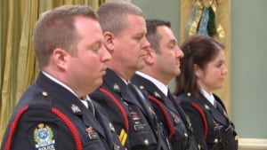 Officers of bravery