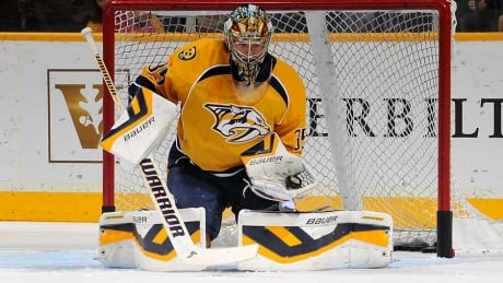 Predators encouraged by MRI on Pekka Rinne