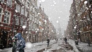 Snow poland