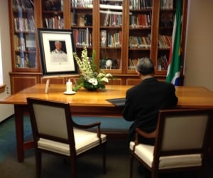 Condolence book- high commission