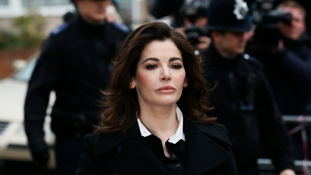 TV chef Nigella Lawson has been denied permission to board a flight to the United States, according to the U.S. Embassy.