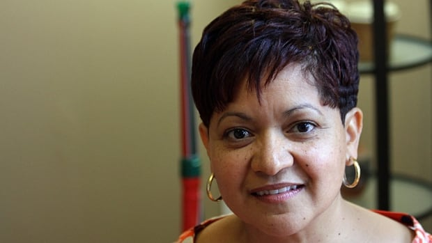 """Janet Cupido is originally from South Africa, but now lives in Ancaster. She still tries to live her life by the example set by the late Nelson Mandela. """"Forgiveness was the greatest thing he had,"""" she said."""