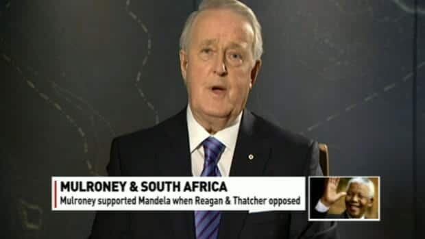 Mulroney on Mandela and Canada