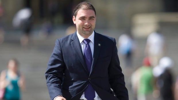 Dimitri Soudas, the former communications director for Prime Minister Stephen Harper, is being considered for a senior job with the Conservative Party.