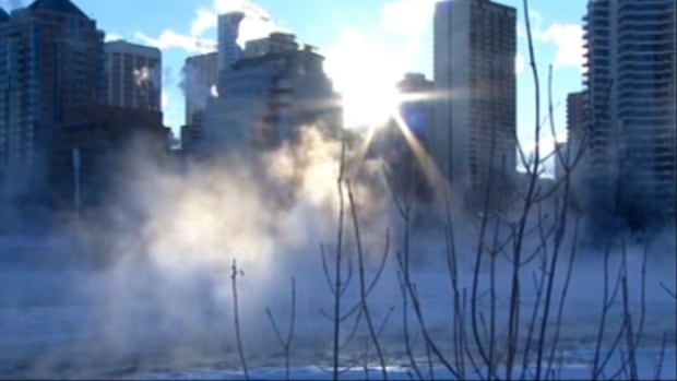 A windchill warning was lifted in Calgary after a bitterly cold start to the day on Saturday.