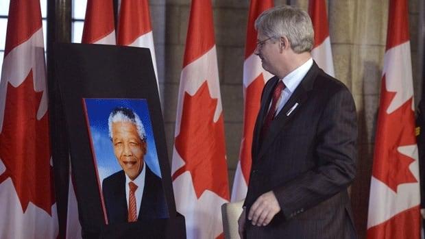 PM leads Canada's Mandela delegation