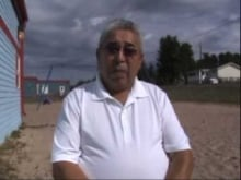 Pat Marcel, Athabasca Chipewyan First Nation Elder