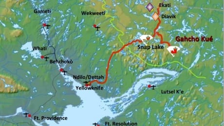 Gahcho Kue map