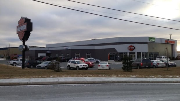 The fatal industrial accident happened at the Mile One Harley-Davidson business in Mount Pearl, off of Kenmount Road.