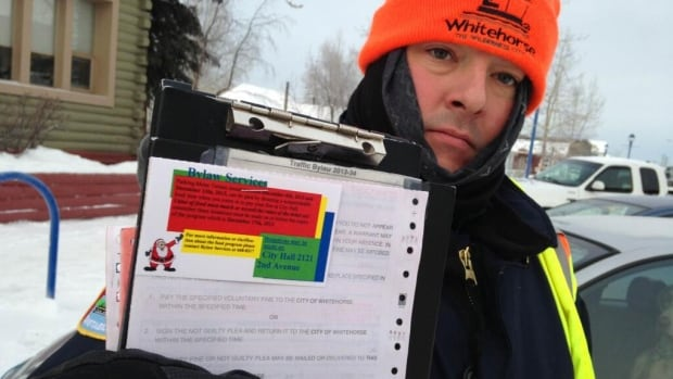 All this week, people who get traffic tickets in Whitehorse can pay their fines in cash or food. The money will go to the Whitehorse Food Bank and the Kaushee's Place women's centre.